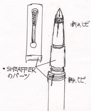 15_02-01PILOT&SHEAFFER図